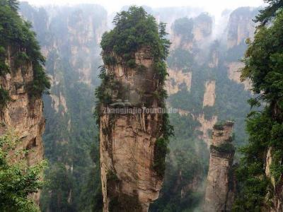 Avatar Hallelujah Mountain Zhangjiajie China