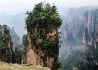 Zhangjiajie Avatar Hallelujah Mountain and Bailong Elevator