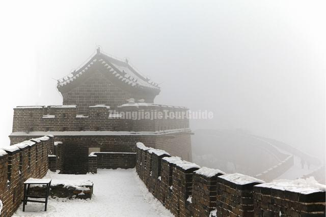 Mutianyu Great Wall Snow