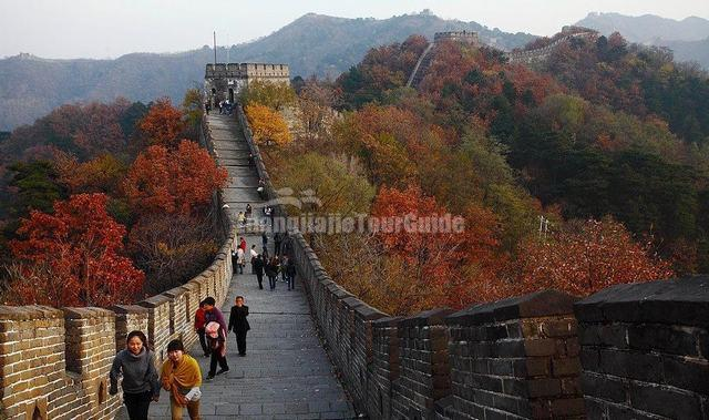 Mutianyu Great Wall Autumn Beijing