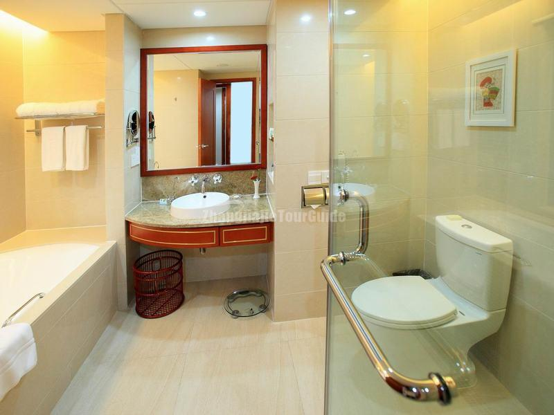 Qinghe Jinjiang International Hotel Bath Room