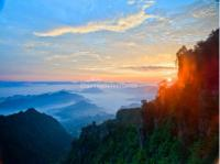 Sunrise Zhangjiajie National Park