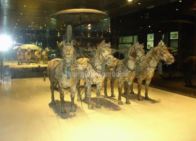 Terracotta Warriors and Horses Museum Carriage Xian