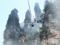 Tianzi Mountain Cable Car