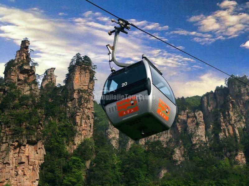Cable Car-Tianzi Mountain