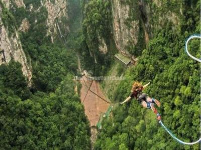 Zhangjiajie Glass Bridge Bungee