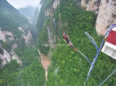 Zhangjiajie Grand Canyon Bungee