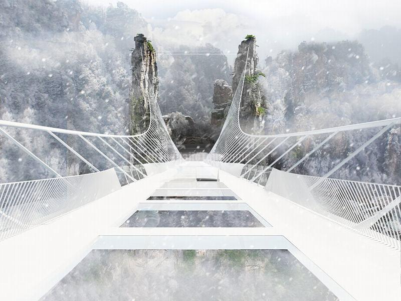 Zhangjiajie Glass Bridge China