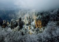 Zhangjiajie National Park Snow Photo
