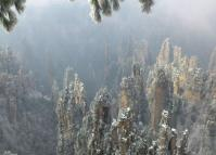 Zhangjiajie National Forest Park Winter Scenery