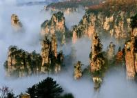 Zhangjiajie National Forest Park in Fall