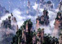 Zhangjiajie National Forest Park Mountains