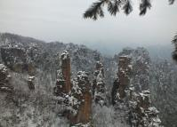 Zhangjiajie National Forest Park January