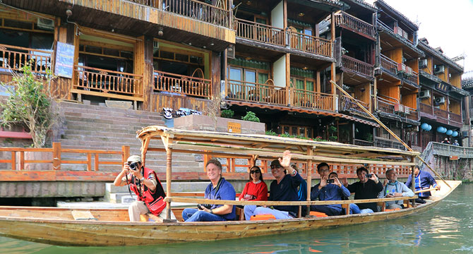 7-day Zhangjiajie Fenghuang Changsha Tour